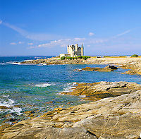 France, Brittany, Département Morbihan, Quiberon peninsula: Château Turpault | Frankreich, Bretagne, Département Morbihan, Quiberon Halbinsel: Château Turpault