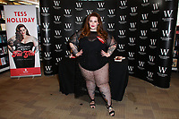 Tess Holliday, LA based plus size model, make-up artist and blogger signs copies of her debut book, &quot;The Not So Subtle Art of Being a Fat Girl: Loving the Skin You're In&quot; at Waterstones Piccadilly, London on September 11, 2017.<br /> CAP/JOR<br /> &copy;JOR/Capital Pictures