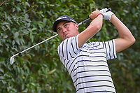 Justin Thomas (USA) watches his tee shot on 17 during round 2 of the World Golf Championships, Mexico, Club De Golf Chapultepec, Mexico City, Mexico. 2/22/2019.<br /> Picture: Golffile | Ken Murray<br /> <br /> <br /> All photo usage must carry mandatory copyright credit (&copy; Golffile | Ken Murray)