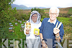 A SWEET VICTORY: Janet Murphy with her father Michael Duggan from Ballyguin, Brandon with their award winning honey products.