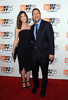 NEW YORK, NY - OCTOBER 01:Jackie Sandler and Adam Sandler attends the New York Film Festival screening of The Meyerowitz Stories (New and Selected) at Alice Tully Hall on October 1, 2017 in New York City. <br /> CAP/MPI/JP<br /> &copy;JP/MPI/Capital Pictures