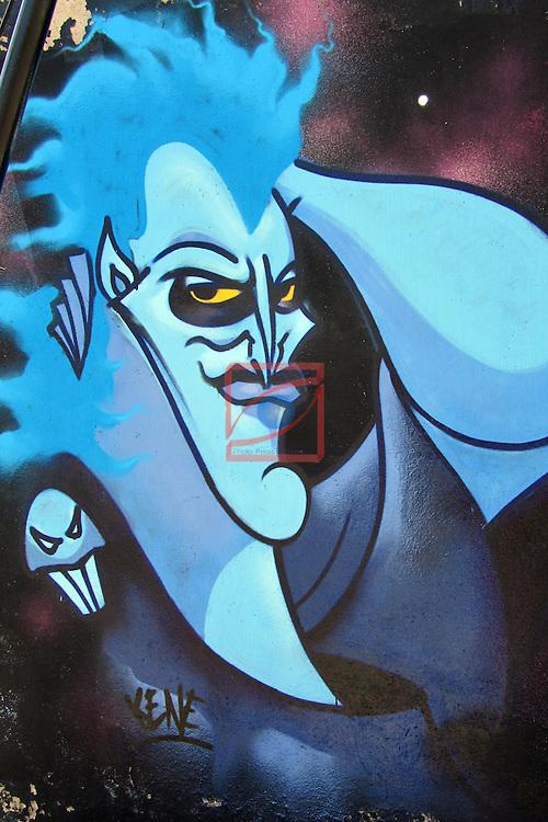 Street Art-Graffittis.<br /> Barbera del Valles.