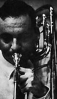 Rod Levitt, bass trombonist.