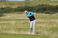 Bernd Wiesberger (AUT) on the 16th fairway during Round 3 of the Alfred Dunhill Links Championship 2019 at St. Andrews Golf CLub, Fife, Scotland. 28/09/2019.<br /> Picture Thos Caffrey / Golffile.ie<br /> <br /> All photo usage must carry mandatory copyright credit (© Golffile | Thos Caffrey)
