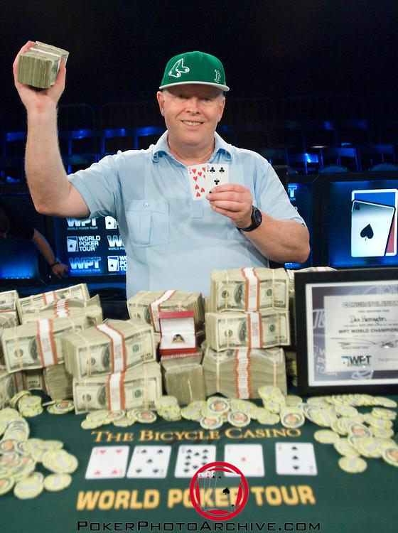 "Legends of Poker champion, ""Action"" Dan Harrington"