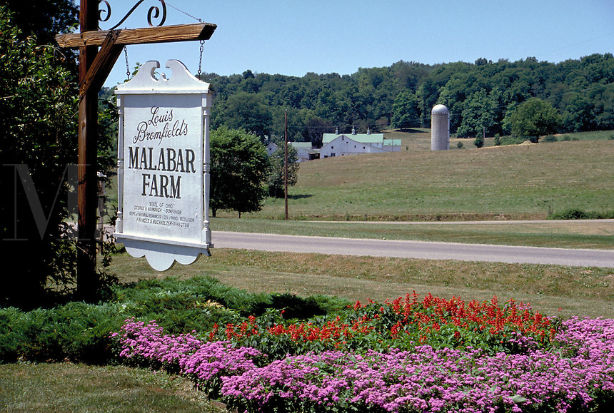 Malabar Farm was once owned by author Louis Bromfield. It is now a State Park and is located in Perrysville, Ohio. country living, rural landscape, literary figures, farming. Perrysville Ohio, Malabar Farm State Park.