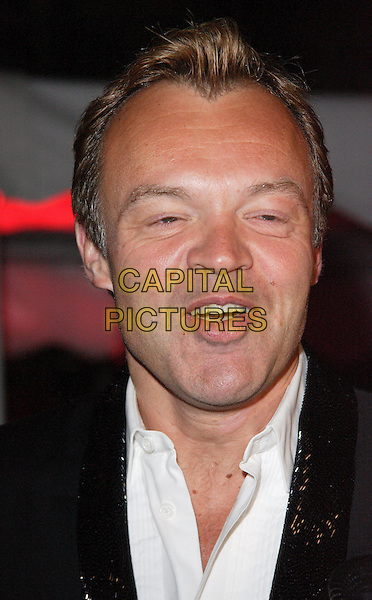 GRAHAM NORTON.Attends the Undiluted Spirit Ball, in aid of the Outward Bound Charity, held at Old Billingsgate Market, London, England, January 11th 2008..portrait headshot .CAP/ROS.©Steve Ross/Capital Pictures