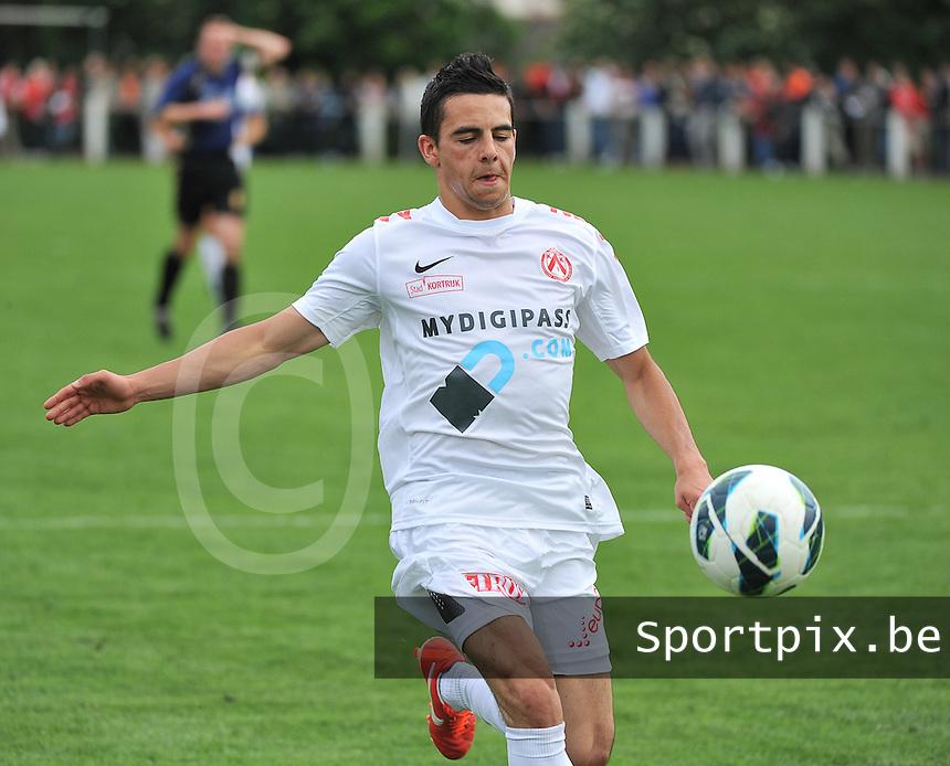 KV Kortrijk - SV Kortrijk : Gregory Mahau<br /> foto VDB / Bart Vandenbroucke