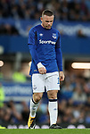 Everton's Wayne Rooney looks on dejected during the Europa League Qualifying Play Offs 1st Leg match at Goodison Park Stadium, Liverpool. Picture date: August 17th 2017. Picture credit should read: David Klein/Sportimage