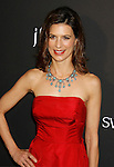 BEVERLY HILLS, CA. - February 17: Actress Perrey Reeves arrives at the 11th Annual Costume Designers Guild Awards at the Four Seasons Beverly Wilshire Hotel on February 17, 2009 in Beverly Hills, California.
