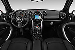 Stock photo of straight dashboard view of 2016 MINI Countryman Cooper S Park Lane 5 Door Hatchback Dashboard