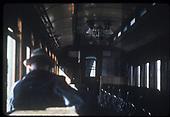 Interior of a coach.<br /> D&amp;RGW