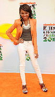 LOS ANGELES, CA - MARCH 31: China Anne McClain  arrives at the 2012 Nickelodeon Kids' Choice Awards at Galen Center on March 31, 2012 in Los Angeles, California.