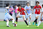エーッオ/Hanae Shibata (Reds Ladies), <br /> JUNE 17, 2017 - Football / Soccer : <br /> Plenus Nadeshiko League Cup 2017 Division 1 <br /> match between Urawa Reds Ladies 0-0 Vegalta Sendai Ladies <br /> at Saitama Urawa Komaba Stadium in Saitama, Japan. <br /> (Photo by MATSUO.K/AFLO SPORT)