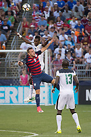 East Hartford, CT - Saturday July 01, 2017: Jordan Morris during an international friendly match between the men's national teams of the United States (USA) and Ghana (GHA) at Pratt & Whitney Stadium at Rentschler Field.