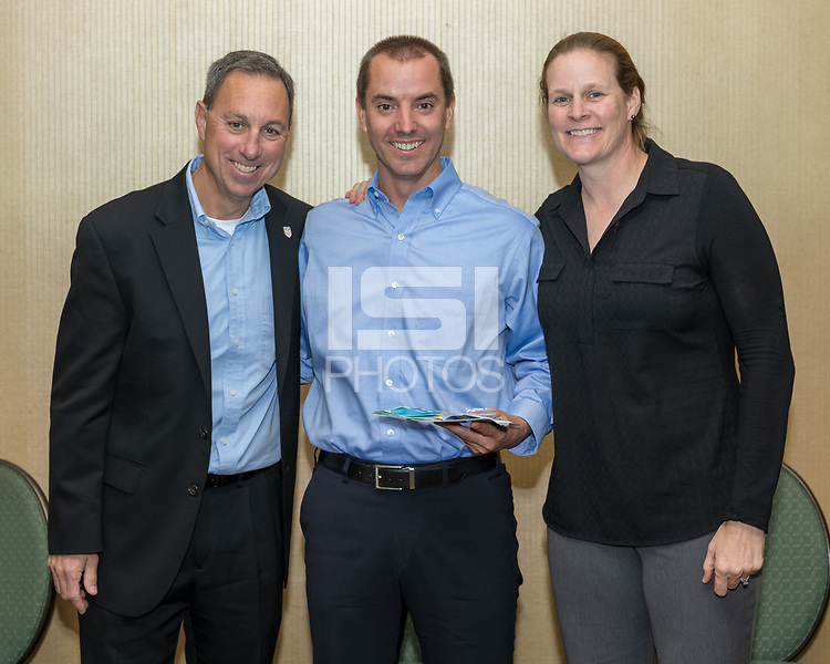 Houston, TX - Sunday January 20, 2019: USSF Referee Award Ceremony.