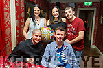 Darragh Murphy from Tralee celebrating his 21st birthday in Cassidys on Saturday night.<br /> Seated l-r, Ken and Darragh Murphy.<br /> Back l-r, Hayley, Natalie and Gary Murphy.