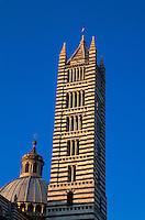Dom Santa Maria Assunta, Siena, Toskana, Italien, Unesco-Weltkulturerbe
