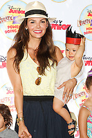 PASADENA, CA, USA - AUGUST 16: Ali Landry, Valentin Monteverde at the Disney Junior's 'Pirate And Princess: Power Of Doing Good' Tour held at Brookside Park on August 16, 2014 in Pasadena, California, United States. (Photo by Celebrity Monitor)