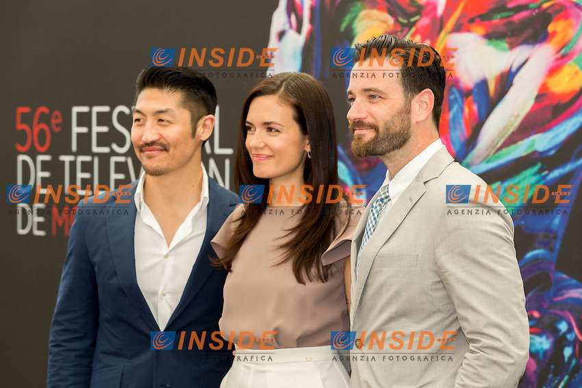 Torrey DEVITTO, Chicago Med<br />Colin DONNELL, Chicago Med<br />Brian TEE, Chicago Med <br /> Monaco Montecarlo 14-06-2016 <br /> 56th Monaco TV Festival - Photocall Opening Ceremony <br /> Foto Nicolas Gavet Panoramic / Insidefoto