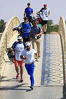 Romain Langasque (FRA) during round 2, Ras Al Khaimah Challenge Tour Grand Final played at Al Hamra Golf Club, Ras Al Khaimah, UAE. 01/11/2018<br /> Picture: Golffile | Phil Inglis<br /> <br /> All photo usage must carry mandatory copyright credit (&copy; Golffile | Phil Inglis)