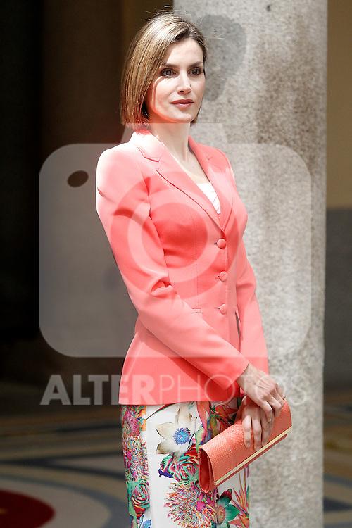Queen of Spain Letizia during the commemoration of the bicentennial of the Delegation of the Greatness of Spain. June 16,2015. (ALTERPHOTOS/Acero)