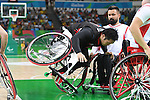 Reo Fujimoto (JPN),<br /> SEPTEMBER 8, 2016 - Wheelchair Basketball : <br /> Preliminary Round Group A<br /> match between Turkey 65-49 Japan<br /> at Carioca Arena 1<br /> during the Rio 2016 Paralympic Games in Rio de Janeiro, Brazil.<br /> (Photo by AFLO SPORT)