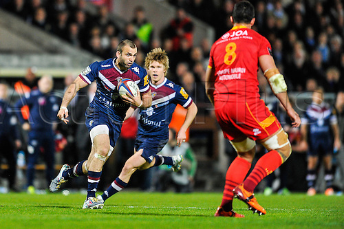 29.03.2014. Bordeaux, France. Top 14 rugby Union. Bordeaux versus Perpignan.  Julien REY (ubb)
