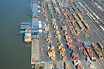 Aerial Photograph Cargo Tankers