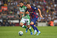 FOOTBALL: FC Barcelone vs Real Betis - La Liga-25/08/2019<br /> Carles Perez (FCB)<br />  <br /> 25/08/2019 <br /> Barcelona - Real Betis  <br /> Calcio La Liga 2019/2020  <br /> Photo Paco Largo/Panoramic/insidefoto