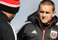 WASHINGTON, DC - February 06, 2012: Casey Townsend of DC United during a pre-season practice session at Long Bridge Park, in Arlington, Virginia on February 6, 2013.