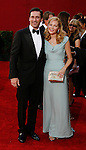 LOS ANGELES, CA. - September 20: Jon Hamm and Jennifer Westfeldt  arrive at the 61st Primetime Emmy Awards held at the Nokia Theatre on September 20, 2009 in Los Angeles, California.