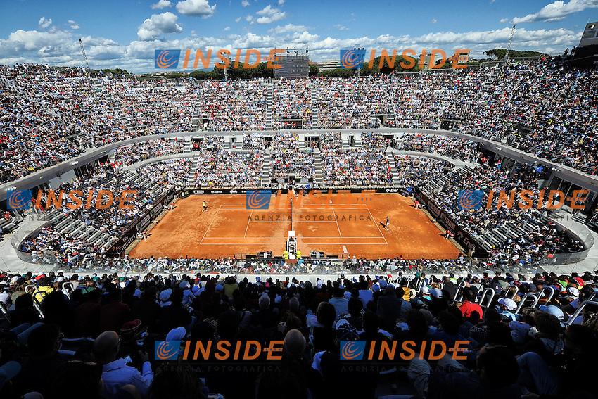 Panoramica. Panoramic View <br /> Roma 14-05-2014 Foro Italico, Internazionali d'Italia di Tennis. Foto Andrea Staccioli / Insidefoto