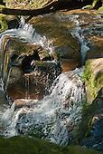Fazenda Bauplatz, Parana State, Brazil. Waterfall on the Rio Diamante in Atlantic Rain Forest.