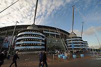 Picture: Andrew Roe/AHPIX LTD, Football, Barclays Premier League, Manchester City v Swansea City, 22/11/14, Etihad Stadium, K.O 3pm<br /> <br /> Etihad Stadium<br /> <br /> Andrew Roe>>>>>>>07826527594