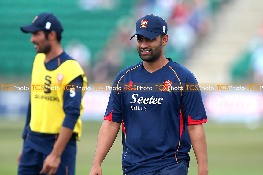 Tamim Iqbal of Essex warms up during Kent Spitfires vs Essex Eagles, NatWest T20 Blast Cricket at The County Ground on 9th July 2017