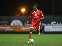 Gboly Ariyibi of MK Dons in action during Forest Green Rovers vs MK Dons, Caraboa Cup Football at The New Lawn on 8th August 2017