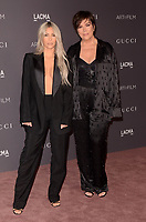 LOS ANGELES, CA - NOVEMBER 04: Kim Kardashian West, Kris Jenner at the 2017 LACMA Art + Film Gala Honoring Mark Bradford And George Lucas at LACMA on November 4, 2017 in Los Angeles, California. <br /> CAP/MPI/DE<br /> &copy;DE/MPI/Capital Pictures
