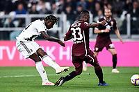 Moise Kean of Juventus , Nicolas Nkoulou of Torino <br /> Torino 3-5-2019 Allianz Stadium Football Serie A 2018/2019 Juventus - Torino <br /> Photo Matteo Gribaudi / Image Sport / Insidefoto