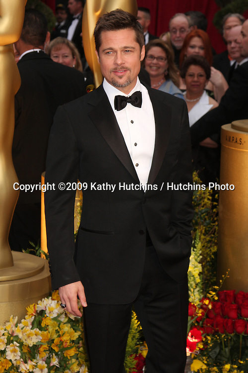Brad Pitt  arriving at the 81st Academy Awards at the Kodak Theater in Los Angeles, CA  on.February 22, 2009.©2009 Kathy Hutchins / Hutchins Photo...                .