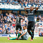 21.07.2019: Rangers v Blackburn Rovers: Alfredo Morelos reacts after the keeper saves his shot