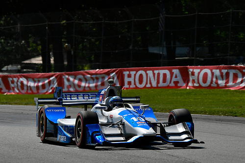 Verizon IndyCar Series<br /> Honda Indy 200 at Mid-Ohio<br /> Mid-Ohio Sports Car Course, Lexington, OH USA<br /> Sunday 30 July 2017<br /> Tony Kanaan, Chip Ganassi Racing Teams Honda<br /> World Copyright: Scott R LePage<br /> LAT Images<br /> ref: Digital Image lepage-170730-to-10356