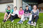 Colaiste na Sceilge students all very positive after English Paper I, pictured here l-r; Cathal O'Donovan, Tars O'Sullivan, Jemma Donnelly, Jason O'Sullivan & Ciara Daly.