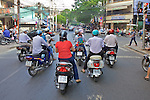 Scooters at Light