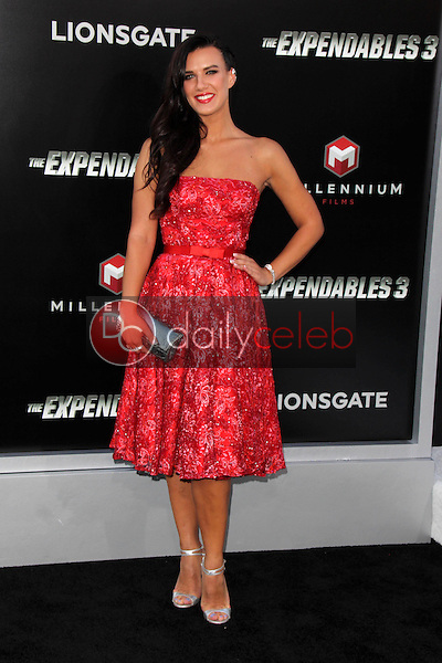 at &quot;The Expendables 3&quot; Los Angeles Premiere, TCL Chinese Theater, Hollywood, CA 08-11-14<br />