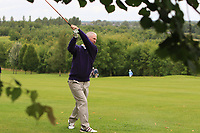 Dermot Fennelly (Mount Juliet) on the 1st fairway during the Final round of the Irish Mixed Foursomes Leinster Final at Millicent Golf Club, Clane, Co. Kildare. 06/08/2017<br /> Picture: Golffile | Thos Caffrey<br /> <br /> <br /> All photo usage must carry mandatory copyright credit      (&copy; Golffile | Thos Caffrey)