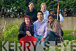 Killarney Asylum Seekers Initiative (KASI) are hoping to continue to build on the success of their community garden initiative and to this year are planning a range of activities for the next season. .Back L-R Marilyn  Catapat Counihan, Sr Colm and  Yamoussa Bangoura. .Joni Kelly, Muhamad Sanghoon Seo and Emmy Buyoya