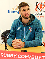 1st October 2019 | Ulster Match Briefing<br /> <br /> Sam Carter during the Ulster Match Briefing ahead to their Sixth African tour at Gibson Park,  Belfast, Northern Ireland. Photo by John Dickson / DICKSONDIGITAL