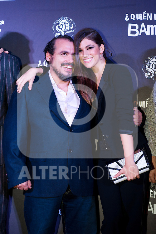 Spanish actor Joaquin Nuñez and spanish actress Ursula Corbero attend the premiere photocall of the movie '¿Quien mato a Bambi?' at Cine Comedia on November 7, 2013 in Barcelona, Spain. (ALTERPHOTOS/Alex Caparros)