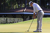 Brandon Stone (RSA) putts on the 5th green during Saturday's Round 3 of the 2018 Turkish Airlines Open hosted by Regnum Carya Golf &amp; Spa Resort, Antalya, Turkey. 3rd November 2018.<br /> Picture: Eoin Clarke | Golffile<br /> <br /> <br /> All photos usage must carry mandatory copyright credit (&copy; Golffile | Eoin Clarke)
